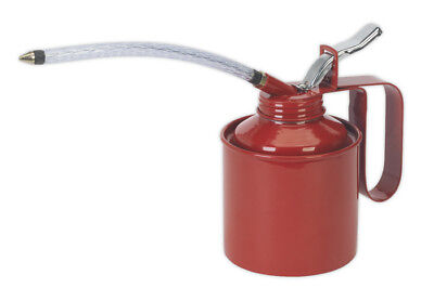 Metal Oil Can Flexible Spout 500Ml From Sealey Tools