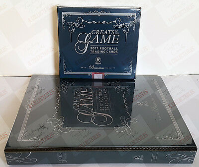 XMAS GIFT ~ 2017 Regal AFL greats of the game hobby box album combo + FREE CARD