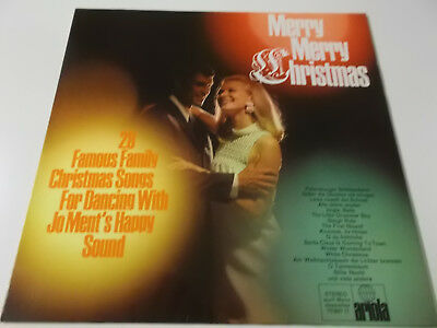40642 - Merry Merry Christmas - Ariola Vinyl Lp (Jo Ment's Happy Sound)