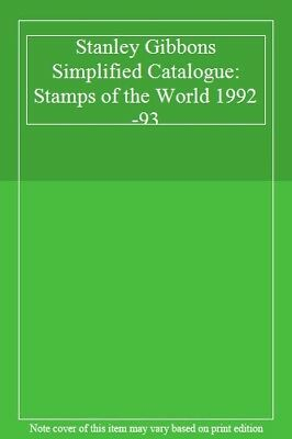 Stanley Gibbons Simplified Catalogue: Stamps of the World 1992-93,