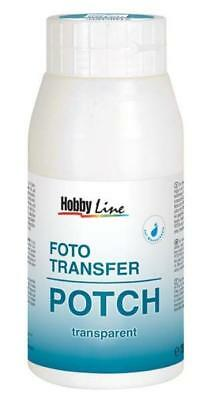 KREUL Foto Transfer POTCH 750ml TransferKleber Überzugslack Transfer Medium