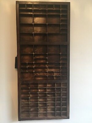 Vintage Letterpress Printers Tray Drawer - F2