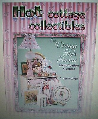 Vintage COTTAGE $$ id PRICE GUIDE COLLECTOR BOOK chenille quilt table chair bed
