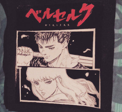 Berserk Griffith Guts patch