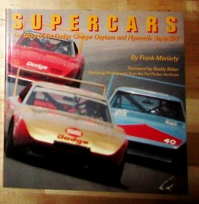 SUPERCARS: The Story Of The Dodge Charger Daytona and Plymouth Superbird  RARE