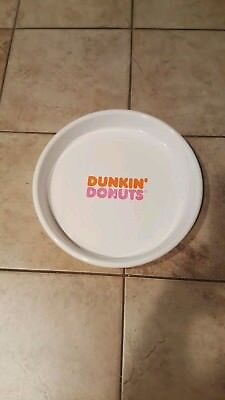 DUNKIN' DONUTS Advertising Serving Tray Old Logo Food Sign Vintage 1970s
