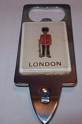 London Queen's Guard Bottle/Can Opener, Stainless Steel