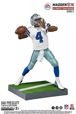 McFarlane NFL Madden 18 Ultimate Team Series 2 DAK PRESCOTT #4 - Dallas Cowboys
