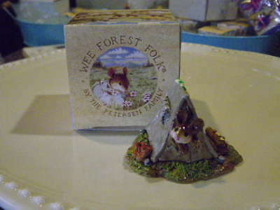 """Wee Forest Folk MS-16, """"Camping Out"""",  Retired"""
