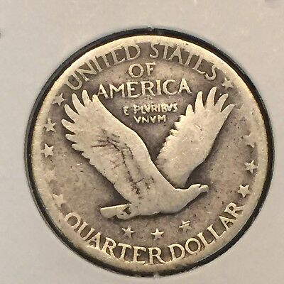 1925 25C Standing Liberty Quarter. Combine Shipping Available.