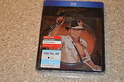 Indiana Jones Raiders of the Lost Ark (Blu ray + Digital Copy SteelBook) (A-1k)