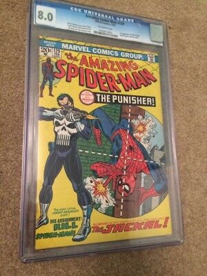 Amazing Spider-Man #129 The Punisher 1st Appearance Marvel/DC