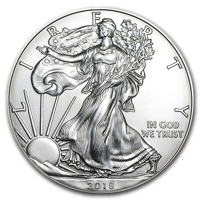 ETATS-UNIS 1 Dollar Argent 1 Once Silver Eagle 2018