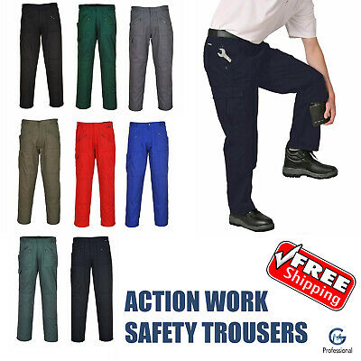 Action Cargo Trousers Kneepad Pocket Work Trouser Work Wear Portwest S887