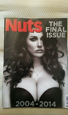 nuts magazine final ever issue