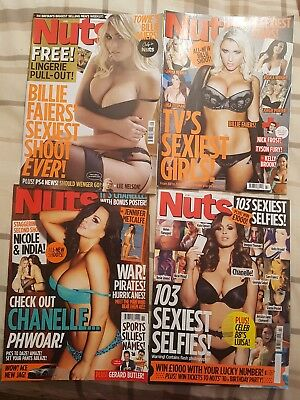 Bundle of 4 nuts magazines