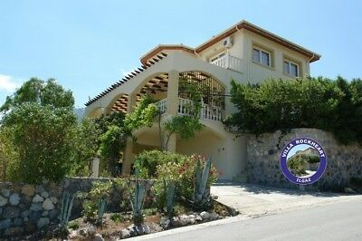 Holiday Week in the Top Holiday Villa Northern Cyprus, Sleeps 8, Private Pool