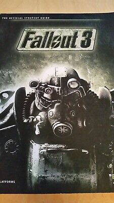 Fallout 3 Game Strategy Guide Paperback PC Xbox360 PS3 Official Bethesda GC