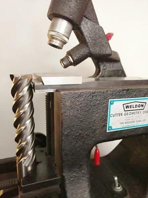 "One Weldon Geometrical Checker - Excellent Condition. ""A MUST for Tool Grinders"""