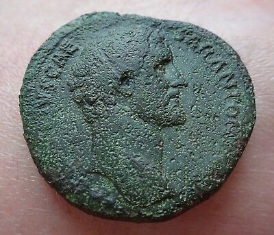 SESTERCE D'ANTONINUS PIUS  / 30,16 gr / 32 mm