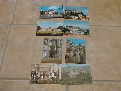 old postcards of sintra (portugal ) x 8