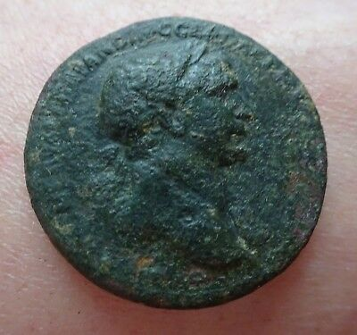 SESTERCE ROMAIN DE TRAJAN / 22,66 gr / 32 mm
