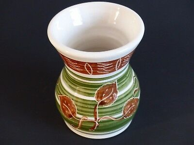 Vintage Dee Cee Welsh Pottery Vase 1960's Excellent Condition