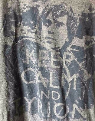 Game of Thrones Tyrion Lannister Official T-Shirt Size XL Keep Calm and Tyrion