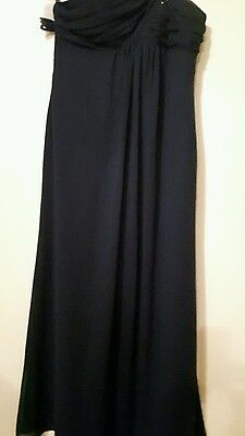 Brand New Alfred angelo Navy Maxi Dress Size 18
