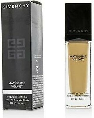 Givenchy Matissime Velvet Fluid Foundation 30 ml All Shades luxury makeup