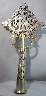 Coptic Orthodox Church Processional Christian Religious Angel Cross Ethiopian