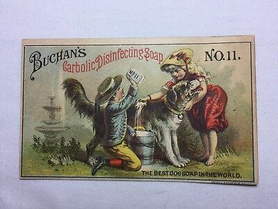 Victorian Trading Card - Bachan's Carbolic Disinfecting Soap No. 11