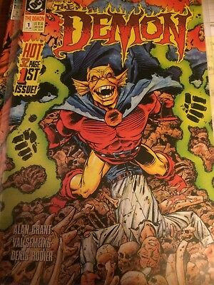 The Demon Comic Books #1 and #2