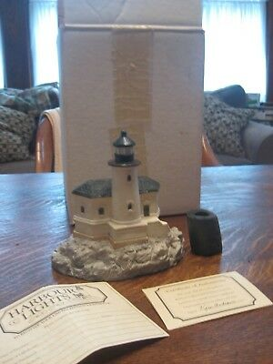 Harbour Lights Coquille River OR #111 Canada 6 Sided Lighthouse 1991 RARE w/box