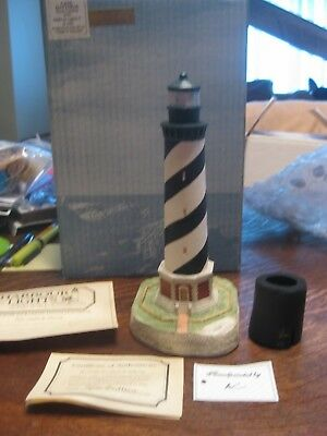 Harbour Lights Cape Hatteras #102 Malaysia Lighthouse COA