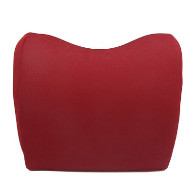Adjustable Red Memory Foam Car Neck Seat Head Pillow Premium Headrest Cushion