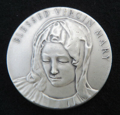 Medallic Arts Co. NY- Blessed Virgin Mary 30.4 g. 999 Silver Medal
