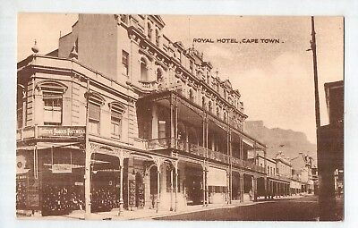 D7267ldd South Africa Royal Hotel Cape Town c1930 vintage postcard