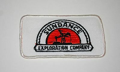 Rare Vtg Sundance Oil Drilling Exploration Company Jacket Patch New NOS 1970s