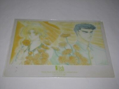 Anime Manga NEW Clear Pencil Board Shitajiki Wish Kohaku Shuichiro Kudo Clamp
