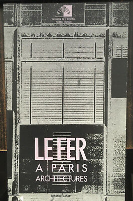 Le Fer A Paris.architectures.bernard Marrey.editions Picard.1989.