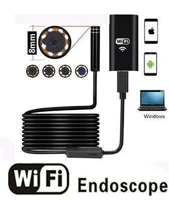Zs- Endoscopio Wireless Telecamera Di Ispezione  WiFi 2.0 Megapixel HD Per Andro