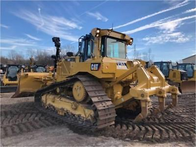 2014 Caterpillar D6T Xw Vp Track Type Crawler Tractor Dozer Cat