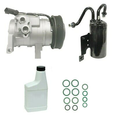 RYC Remanufactured Complete AC Compressor Kit GG494