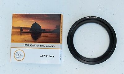 LEE Filters Wide Angle 77mm Adapter Ring- Free Shipping -