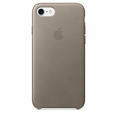Orginal Apple Leather Case Leder Cover Hülle MPT62ZM/A iPhone 7 Taupe Beige