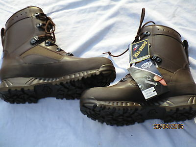 Haix, Boots Combat High Liability Male, Brown, MTP, Goretex, Size 9 M (EU43/