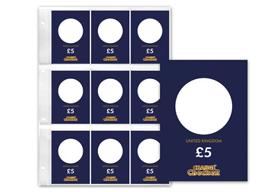 Change Checker Plus £5 Collecting Page [Ref 562R]