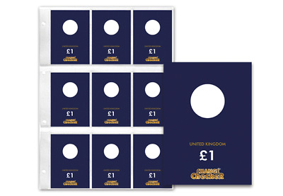 Change Checker Plus Round £1 Collecting Page [Ref 991F]