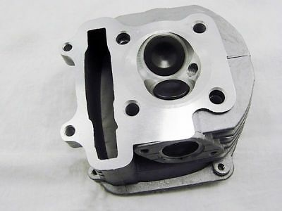 high performance  gy6 150 61 mm cylinder head with larger valves and higher comp